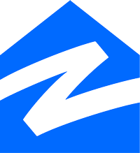 Zillow symbol white